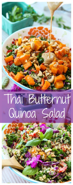 Thai Butternut Quinoa Salad (Gluten-Free)