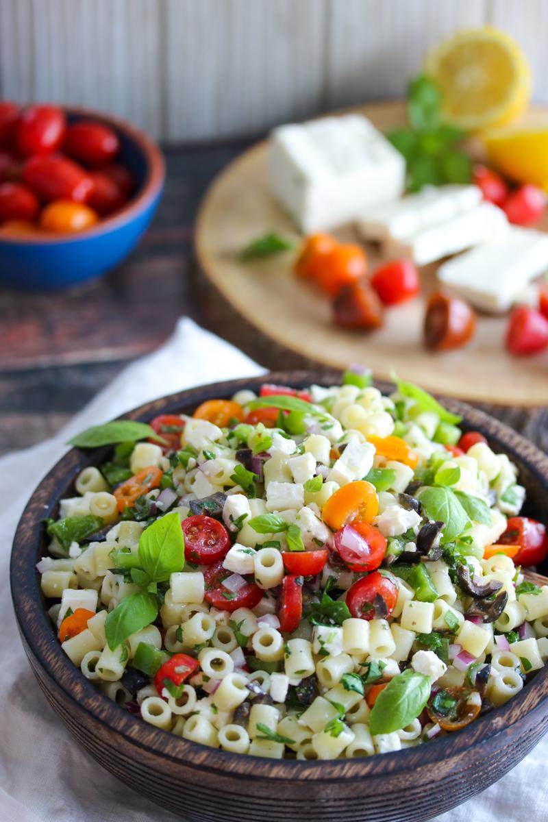 Chopped Greek Pasta Salad