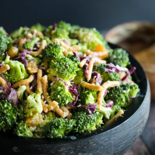 Miso Broccoli Salad