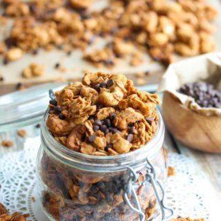 Peanut Butter Cup Granola
