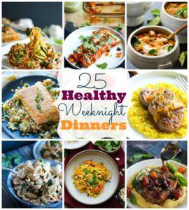 25 Healthy Weeknight Dinners | dishingouthealth.com