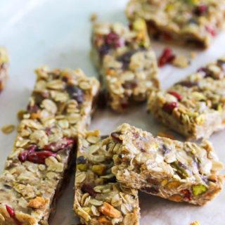No-Bake Tahini Energy Bars