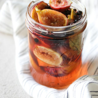 Quick-Pickled Figs