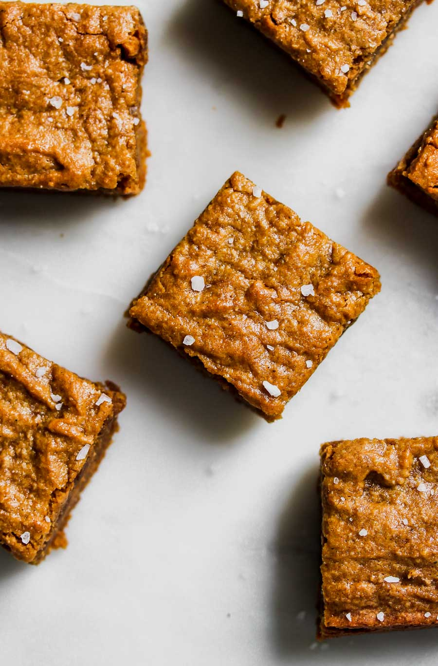 Brown Butter Pumpkin Tahini Bars