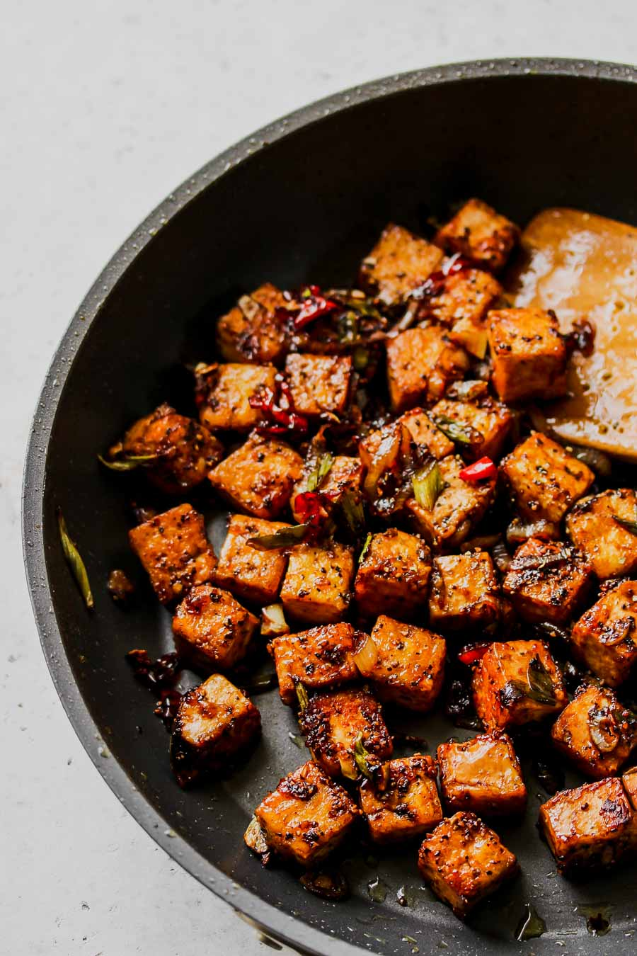 30 Minute Black Pepper Tofu