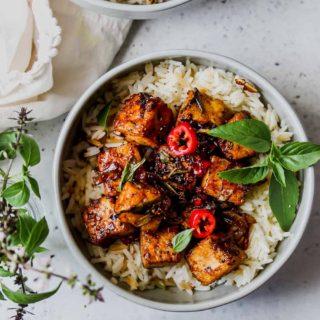 30 Minute Black Pepper Tofu