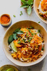 30 Minute Vietnamese Shrimp and Rice Noodle Bowls