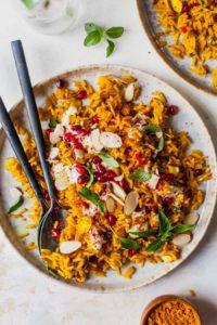30 Minute Golden Rice Pilaf