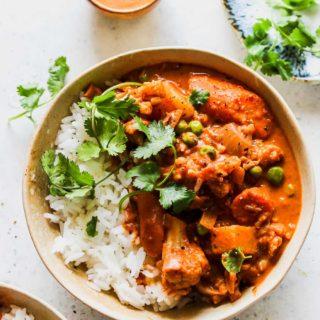 Slow Cooker Vegetarian Tikka Masala
