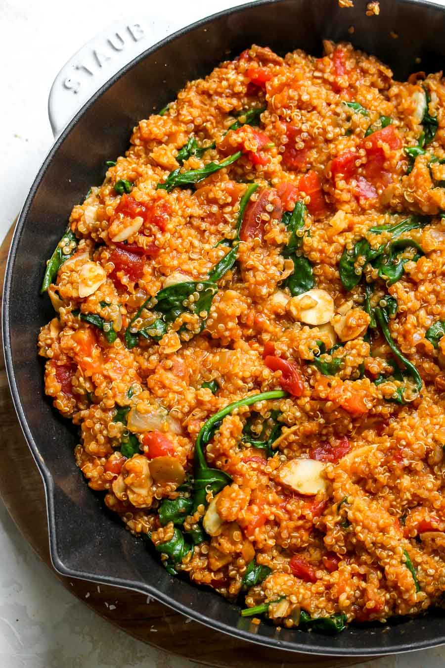 One Pot Moroccan Quinoa