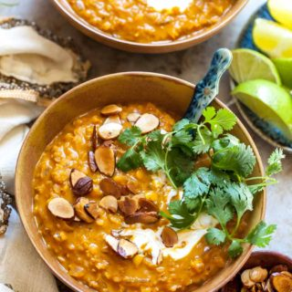 One Pot Curried Lentil Soup (Vegan)