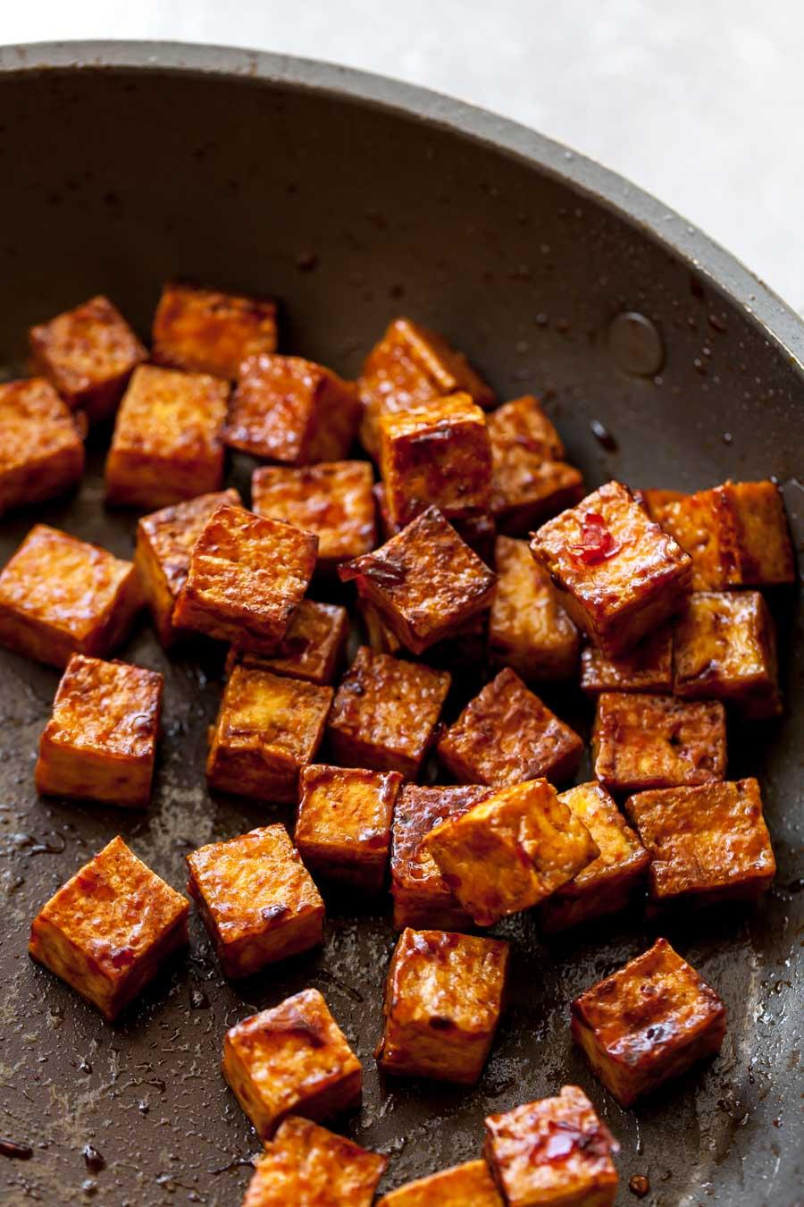 Pan-Seared Tofu
