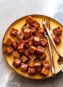 How to Make Crispy Tofu with Asian Glaze