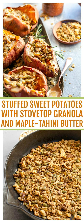 Stuffed Sweet Potatoes for Brunch