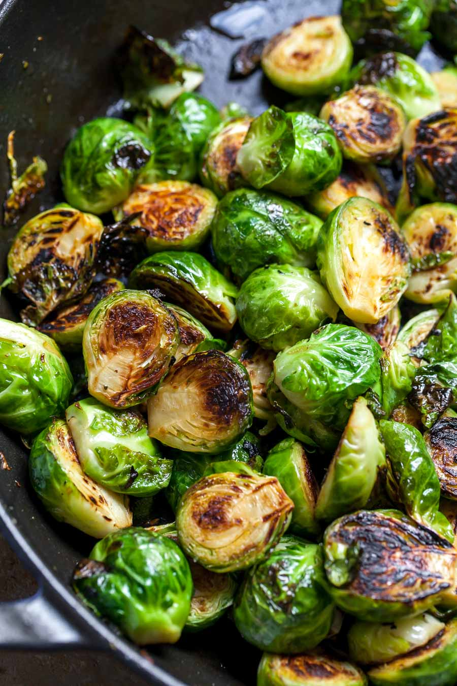 Sautéed Brussels Sprouts on the Stove