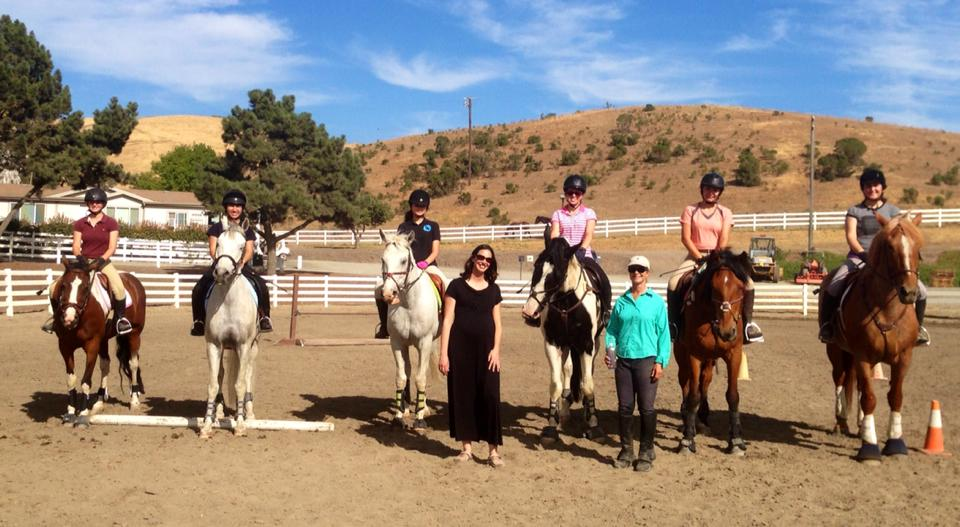 While Ali is on maternity leave, Sarah Vernlund is stepping in to keep the jumping riders sharp. Thanks, Sarah!