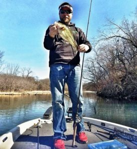 Pre Spawn Largemouth Bass Mississippi River