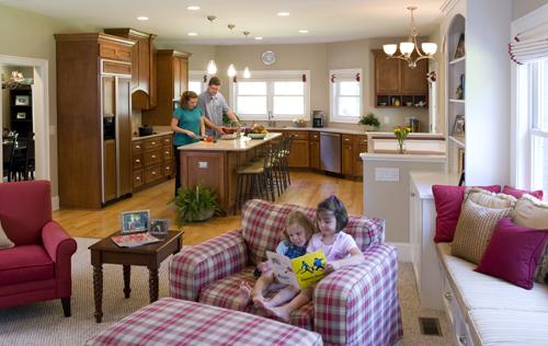 Open Concept Floor Plan - Mike Maher home builder