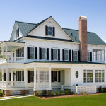Custom built coastal home