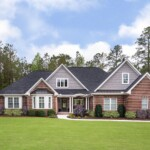 Front exterior - custom built home - The Holden