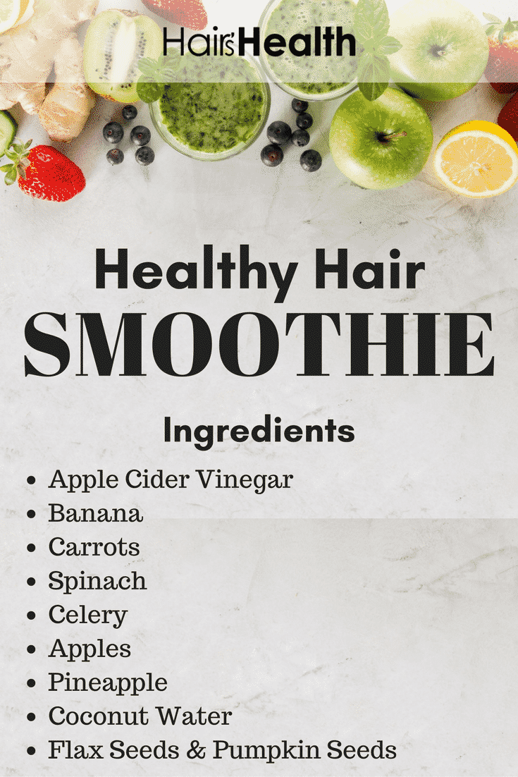 Healthy Hair Smoothie You Must Try