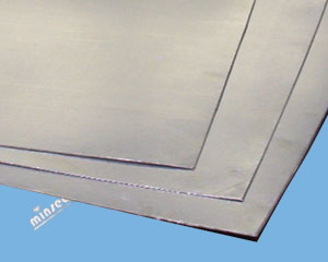 Graphite Sheet Laminate with SS316 Foil Insert