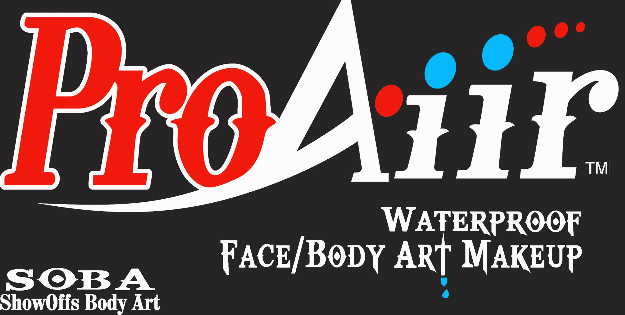 ProAiir Face and Body Art Makeup