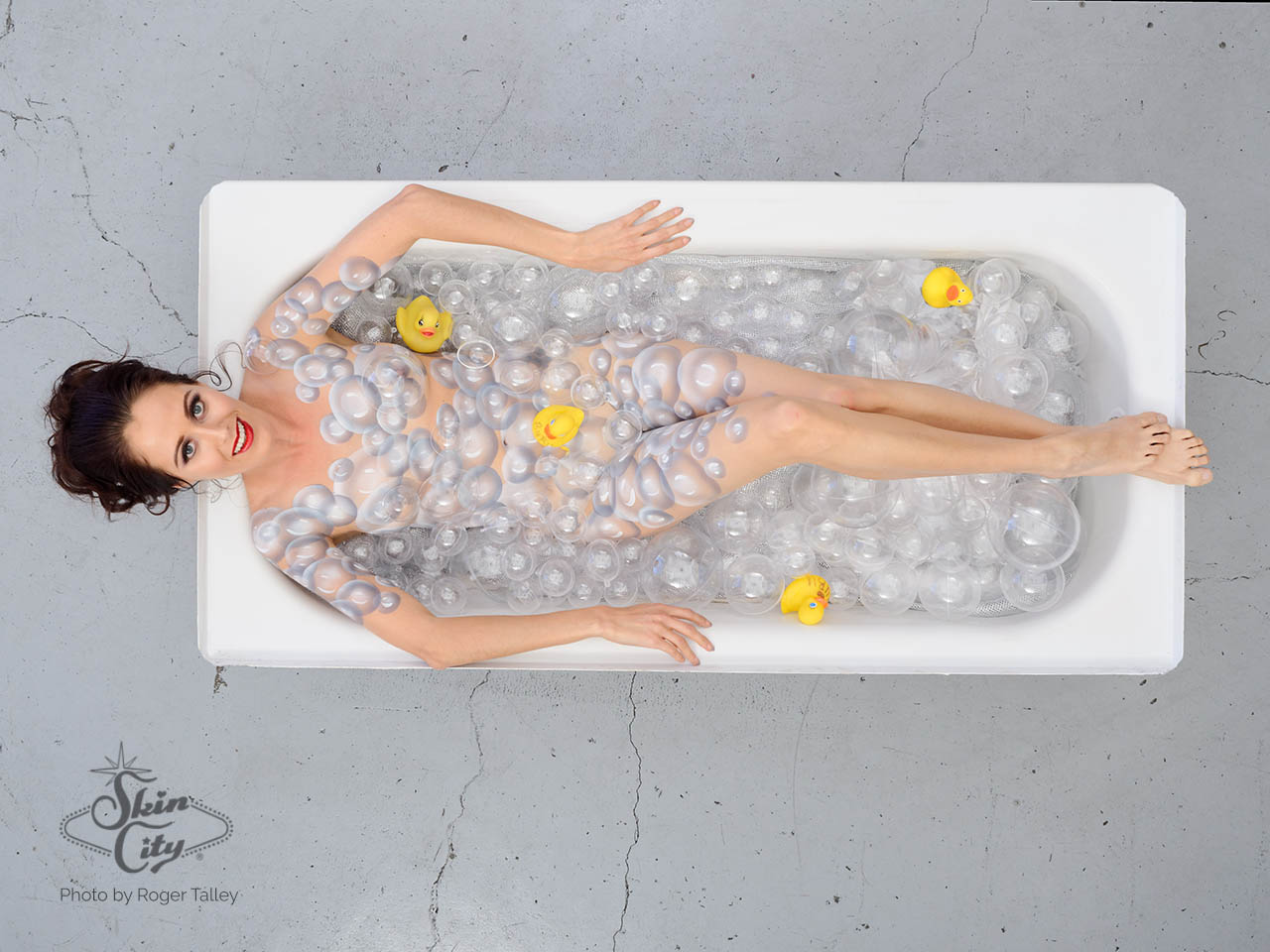 Skin City Bathtub Bubbles