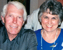 Brugh Joy and Judith Milburn