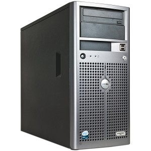 Dell PowerEdge 840 Xeon Dual-Core 3040 1.86GHz 4GB 250GB CD Tower Server w/Video & GbLAN - No Operating System