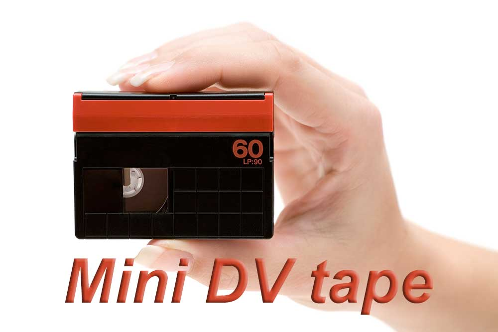 Convert DV tapes to DVD