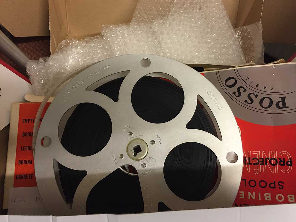 16mm film transfer