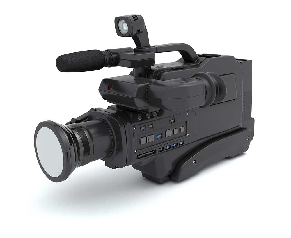 Full size VHS camcorder