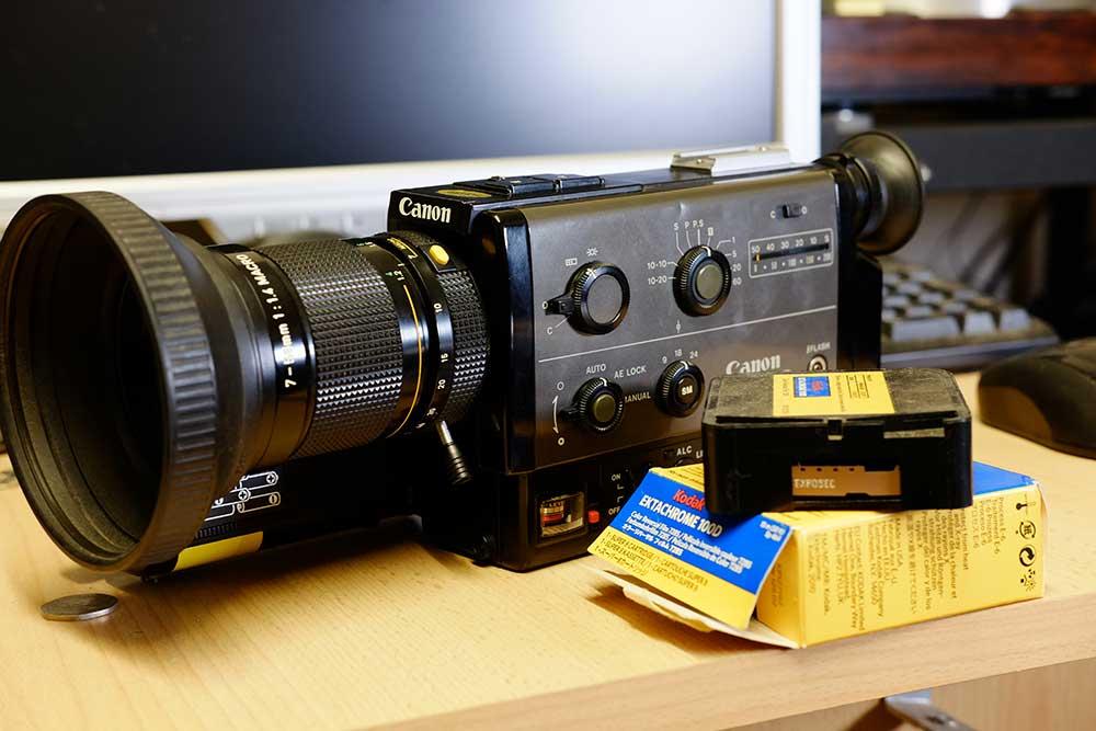 Super 8 film developing