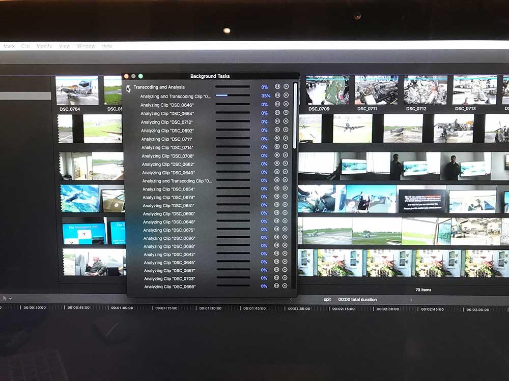 video editing Sussex