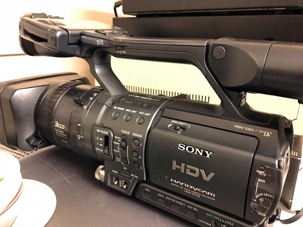 Mini DV or HDV tape transfer