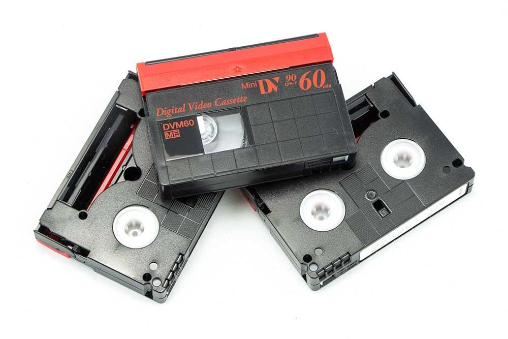 Mini DV tapes