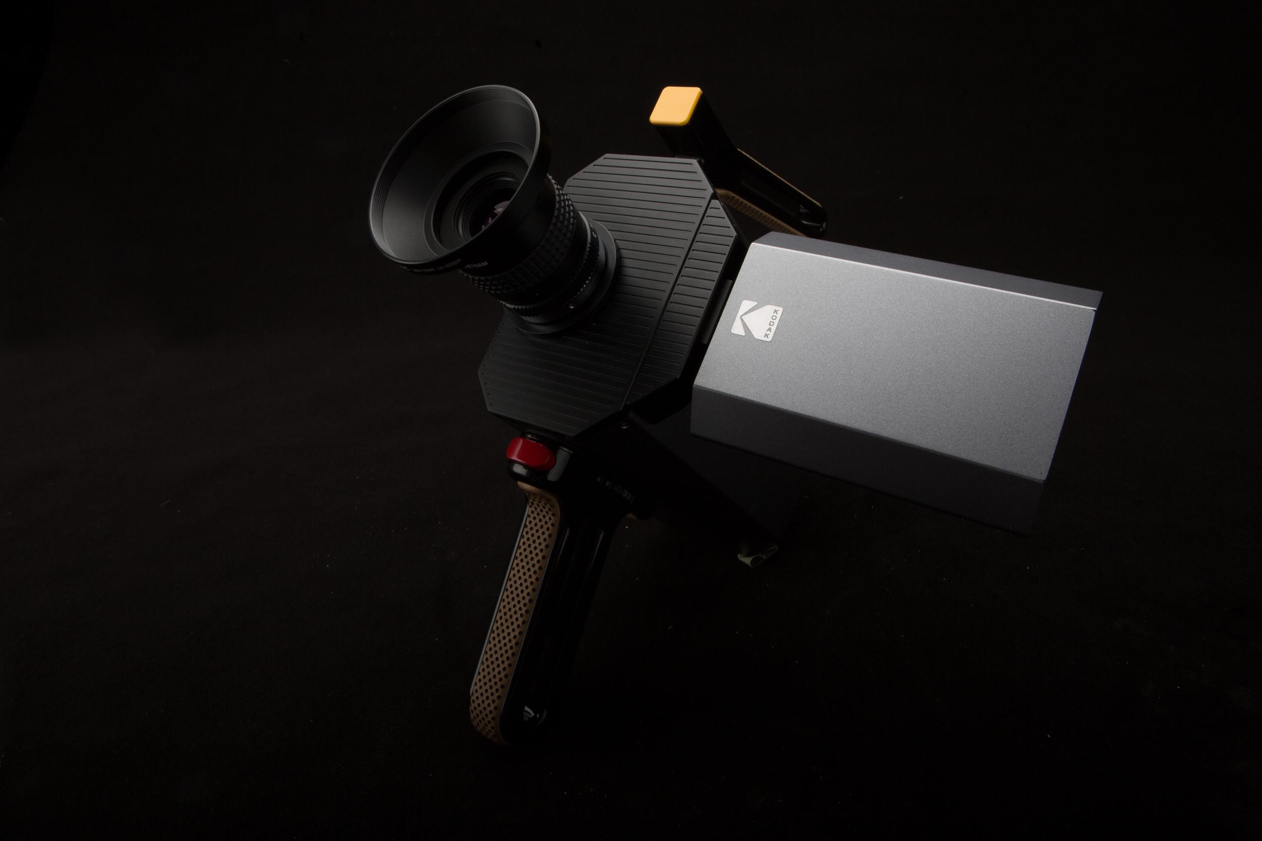 Kodak super 8 movie camera