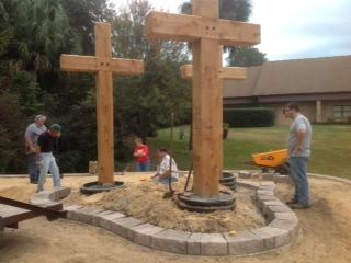 Memorial Crosses Eagle Scout Project