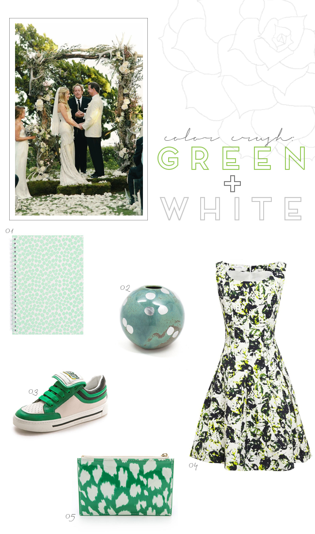 Color-Crush--Green-and-White