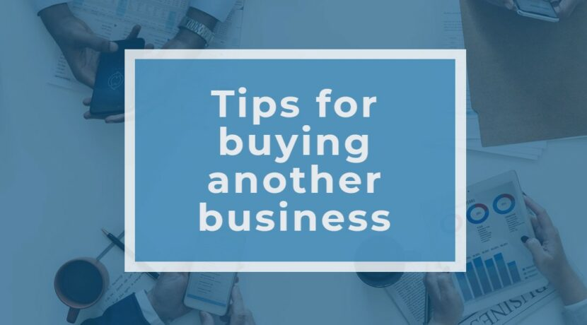 tips for buying another business