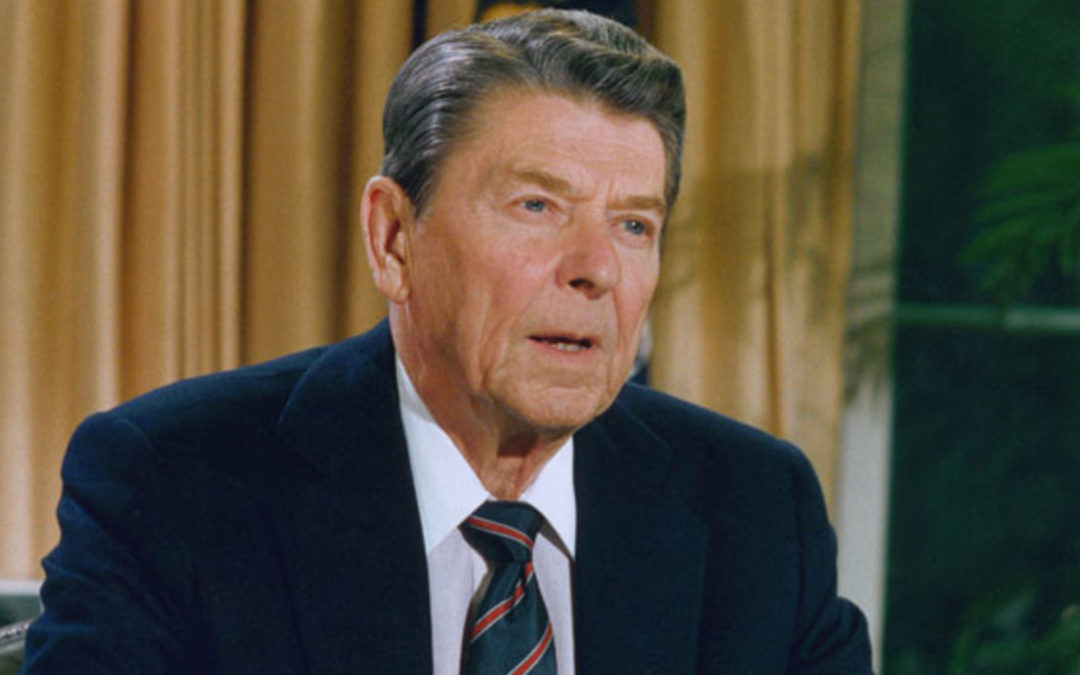 Speech 02: Ronald Reagan (I have slipped the surly bonds of earth)