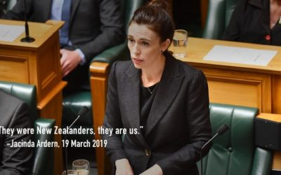 Speech 11:  Jacinda Ardern (they were New Zealanders, they are us)