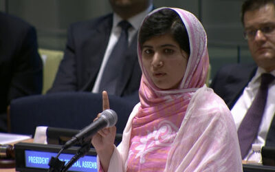 Speech 13:  Malala Yousafzai (one girl among many)
