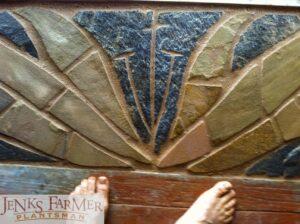 Crinum Flower in Stone.