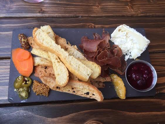 Charcuterie Plate with Cheese Plate