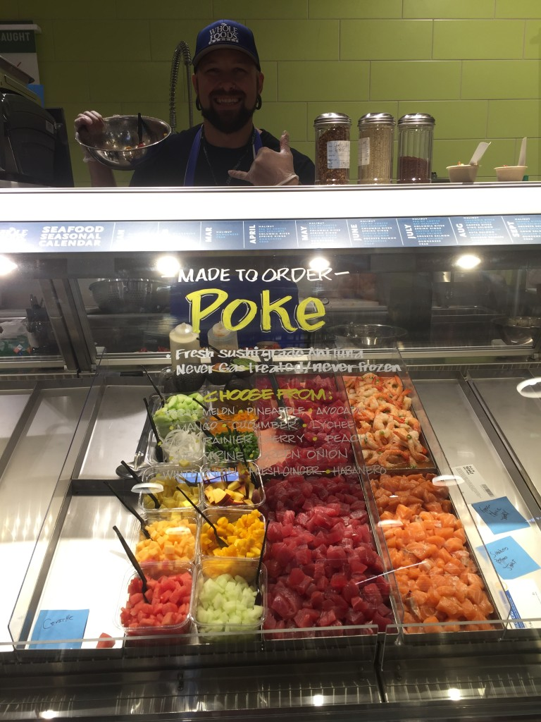The Poke bar. Mike is too cute to not feature...