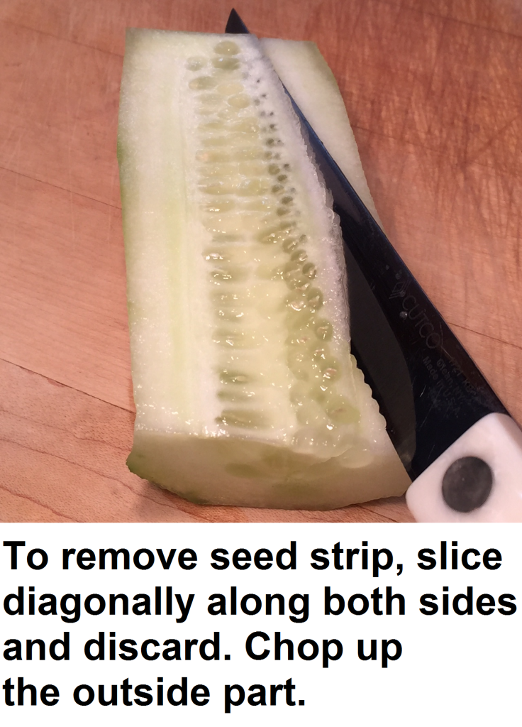 cucumber seed strip