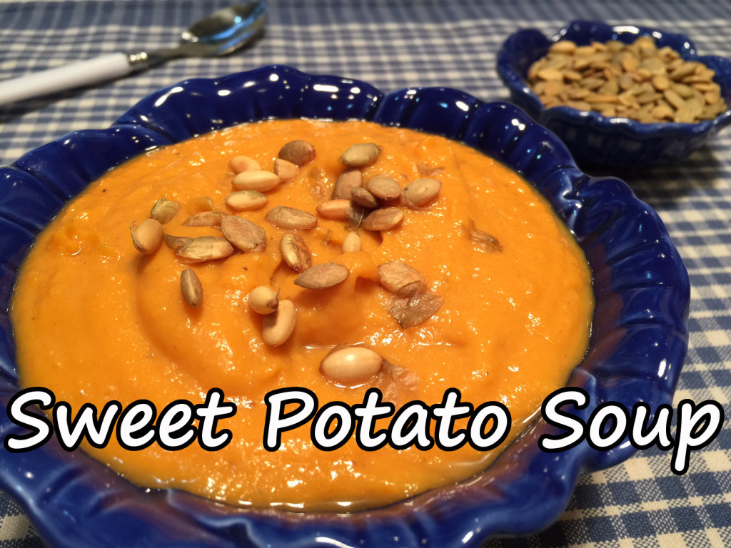 sweet potato soup text