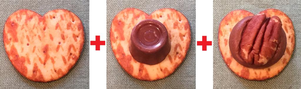 valentine pretzels directions